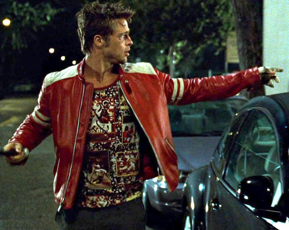 Fight Club Tyler Durden T-shirts?   Fight club, Brad pitt