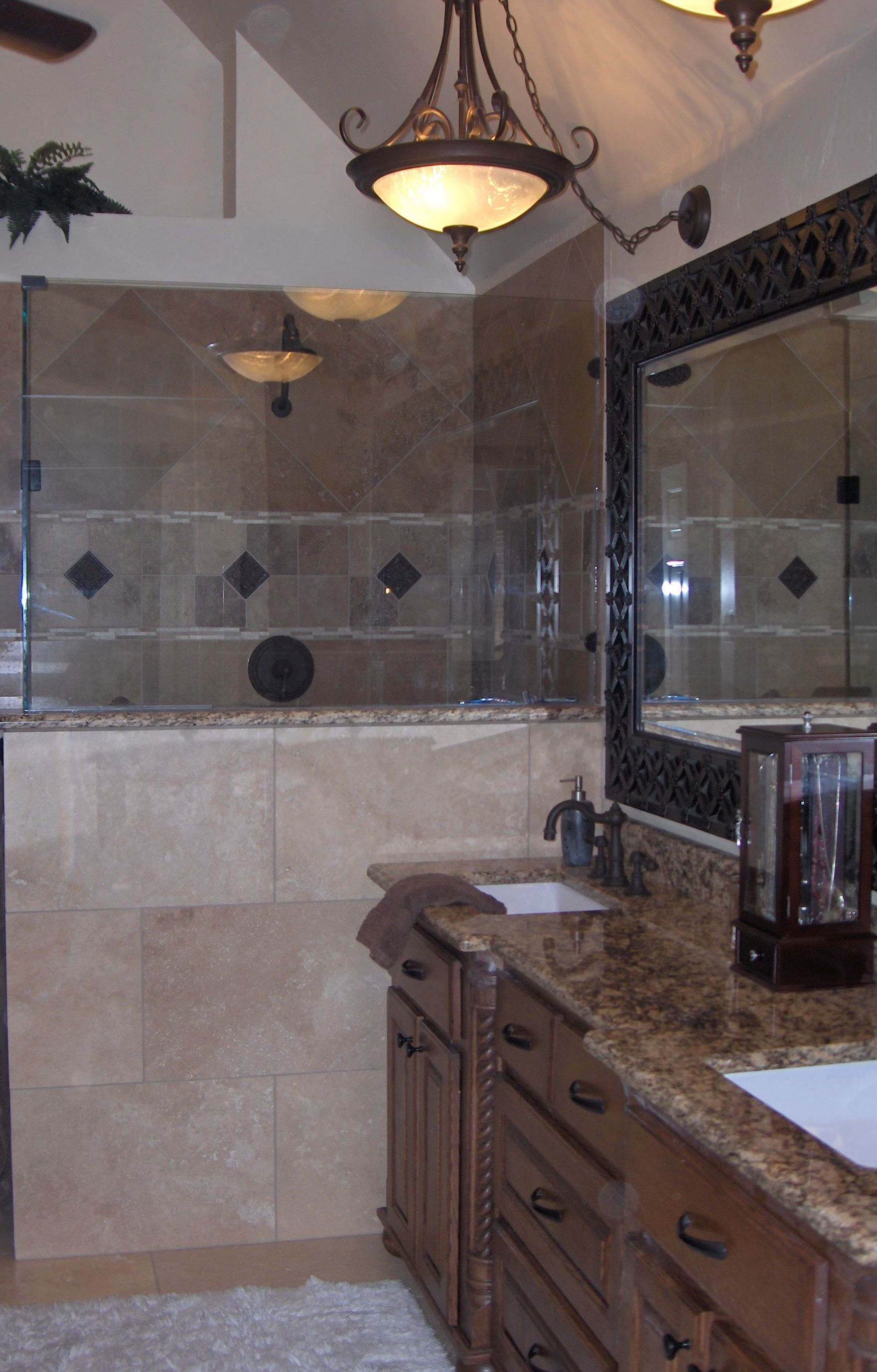 an eclectic bathroom remodel in dallas, tx. | bathrooms (our