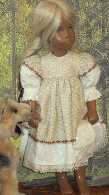 Log Cabin Best - Sasha Doll - dolliepatch