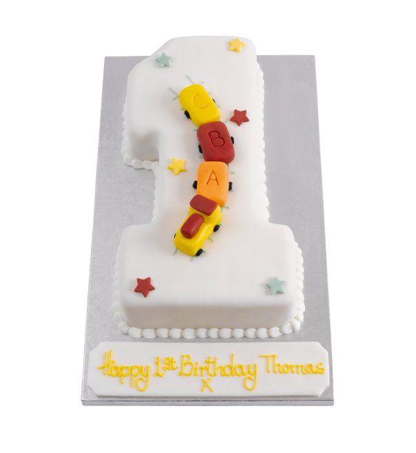 Number 1 Cake Train