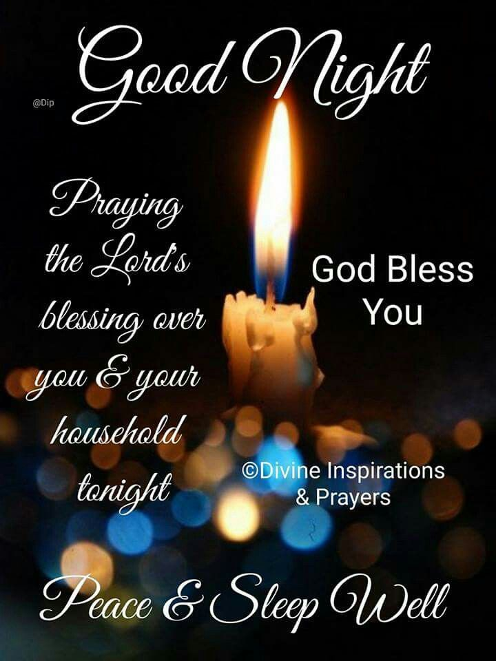 Night Prayers Good And Blessings