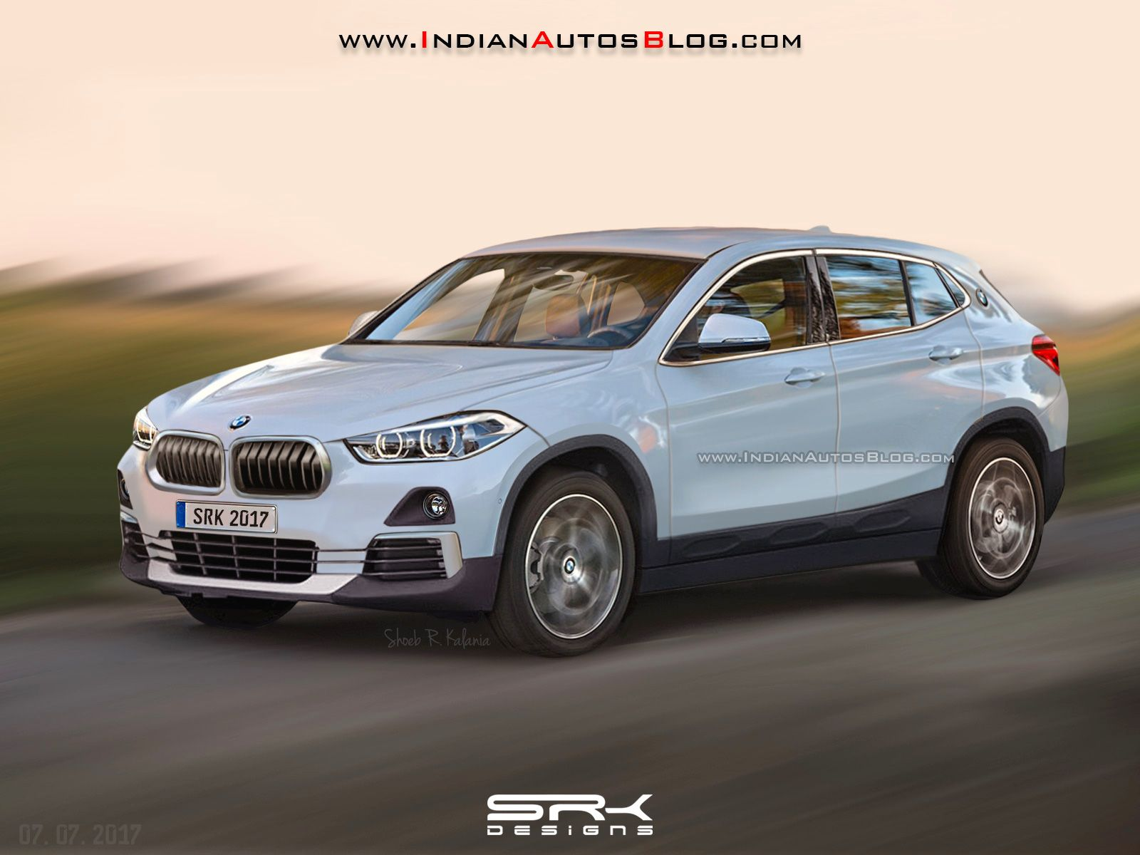 bmw x2 rendered with production ready styling http www. Black Bedroom Furniture Sets. Home Design Ideas