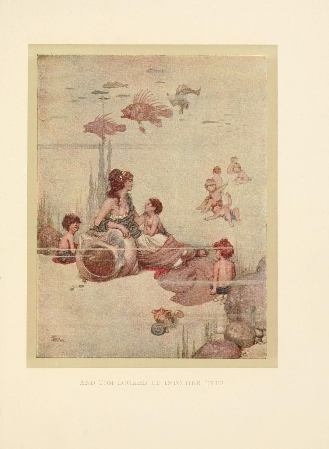 The Water Babies A Fairy Tale For A Land Baby William Heath