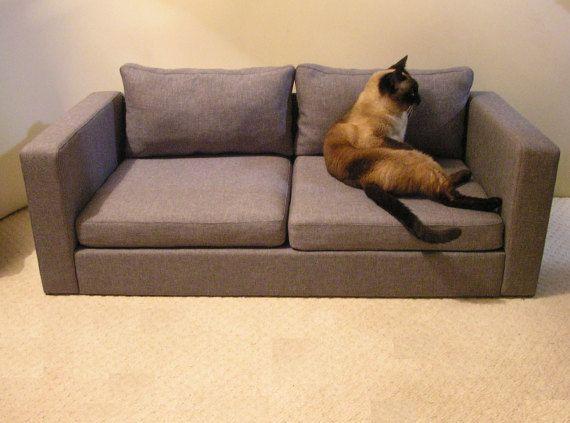 Perfect Mini Copy Of IKEA Sofa For Two Cats Sofa Dog Sofa Pet Pet
