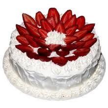 Strawberry cake....yummy!