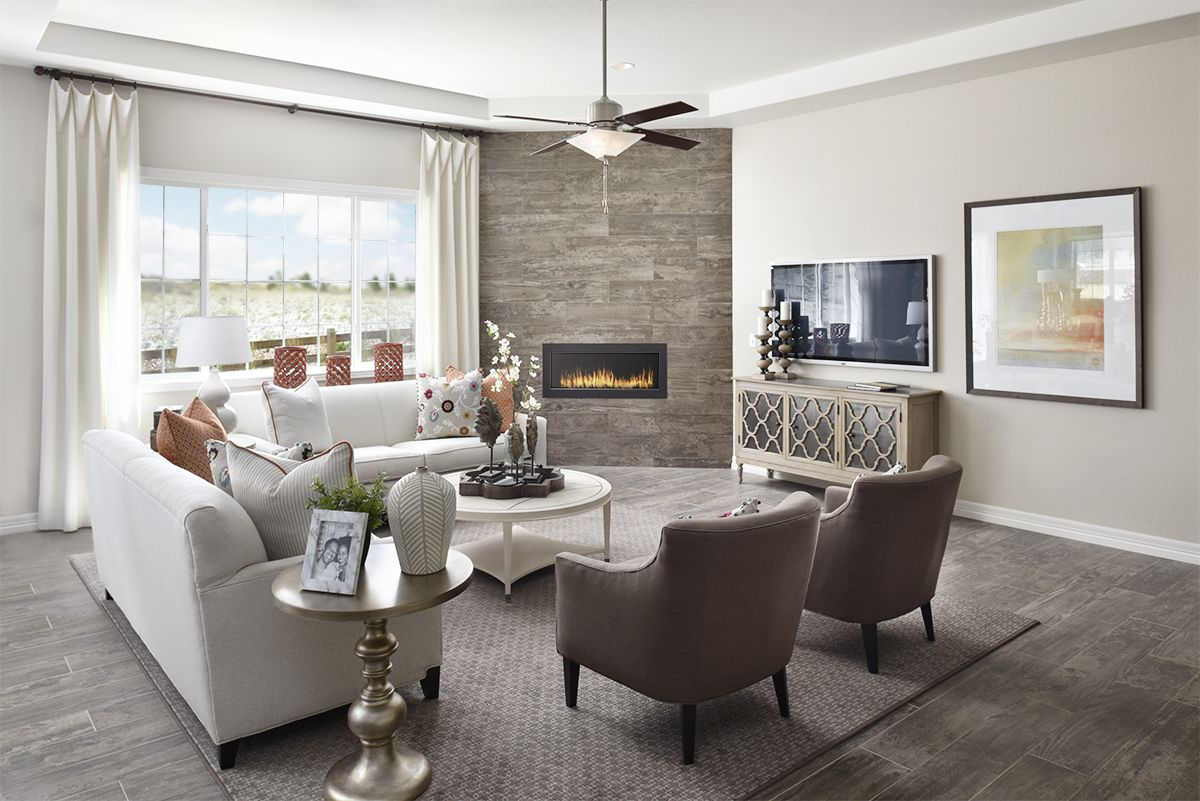 Winter Days Are Better With An Inviting Fireplace Daniel Model