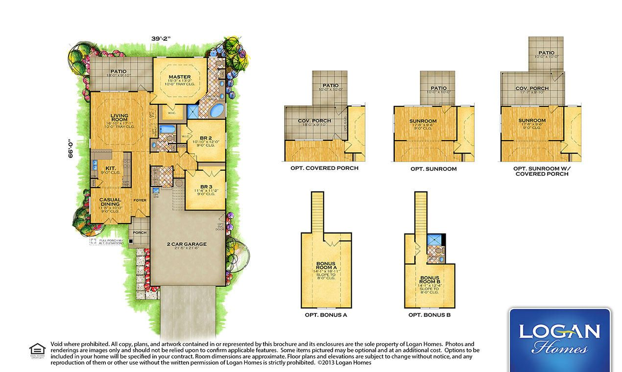 Logan homes plans