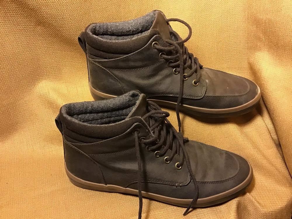 Parker   Sky Mens casual Ankle High sneakers Gray brown size 9.5  fashion   clothing  shoes  accessories  mensshoes  casualshoes  ad (ebay link) f83833b88