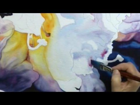 Join http://ArtistsNetwork.tv in enjoying another lesson from watercolor artists Joyce Faulknor and Guy Magallanes, where you'll learn how to paint a flower using two different approaches. Preview it here now to learn how to paint dark to light by starting in the background with Joyce, and painting tips for getting a variety of hard and soft edges.