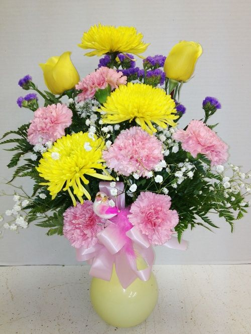 Bright happy birthday flowers from roadrunner florist basket express bright happy birthday flowers from roadrunner florist basket express in phoenix az mightylinksfo