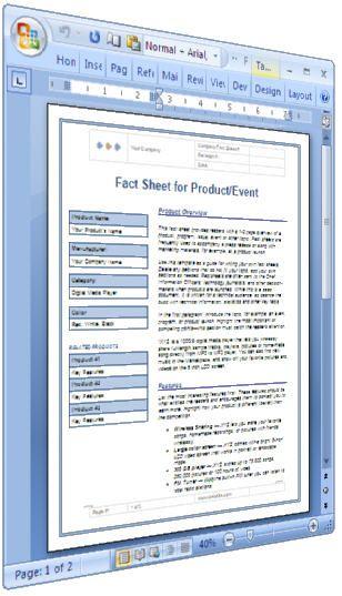 17 beste ideer om Technical Writing Course på Pinterest Kreativ - fact sheet template word