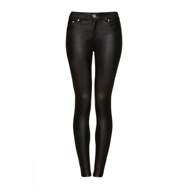 Black Super Stretch Wet Look Trousers (64 NZD) ❤ liked on Polyvore featuring pants, calças, jeans, black pants, shiny black pants, black stretch pants, shiny stretch pants and stretch trousers