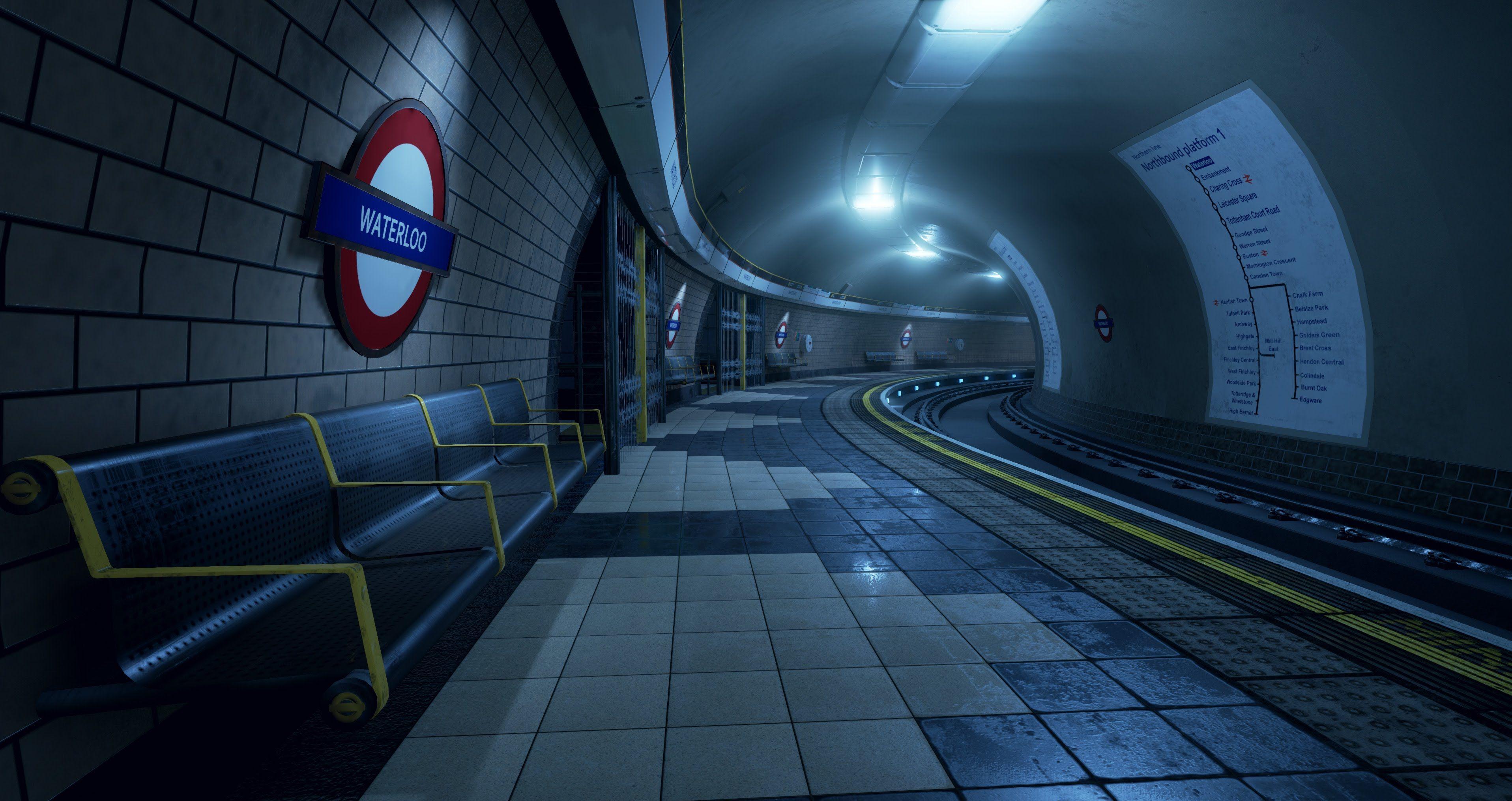 London Underground - Unreal Engine 4 | Neat Game Development