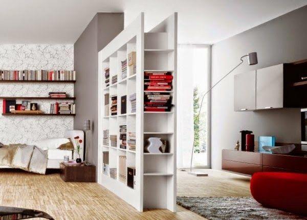 C mo dividir ambientes en un dormitorio abierto - Puertas correderas para separar ambientes ...