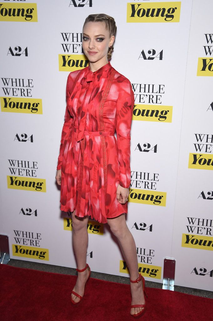 Amanda Seyfried in Valentino Pre-Fall 2015: 'While We're Young' New York Premiere - March 23, 2015