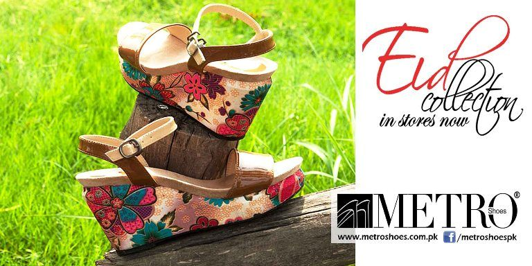 Metro Shoes has the glory to set up the latest designs into Pakistan  footwear industry.