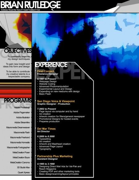 100 Most Creative Resume Examples for Inspiration on to all