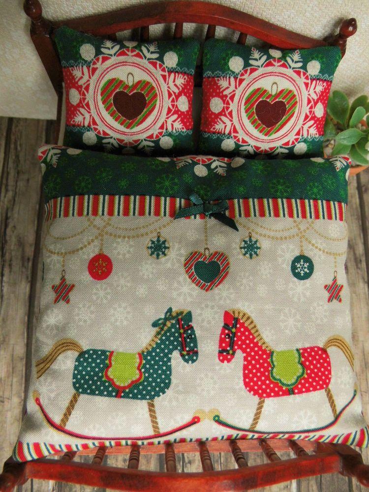 Weihnachts-WENDE-BETTWÄSCHE-SET für Doppelbett 112 Schlafzimmer