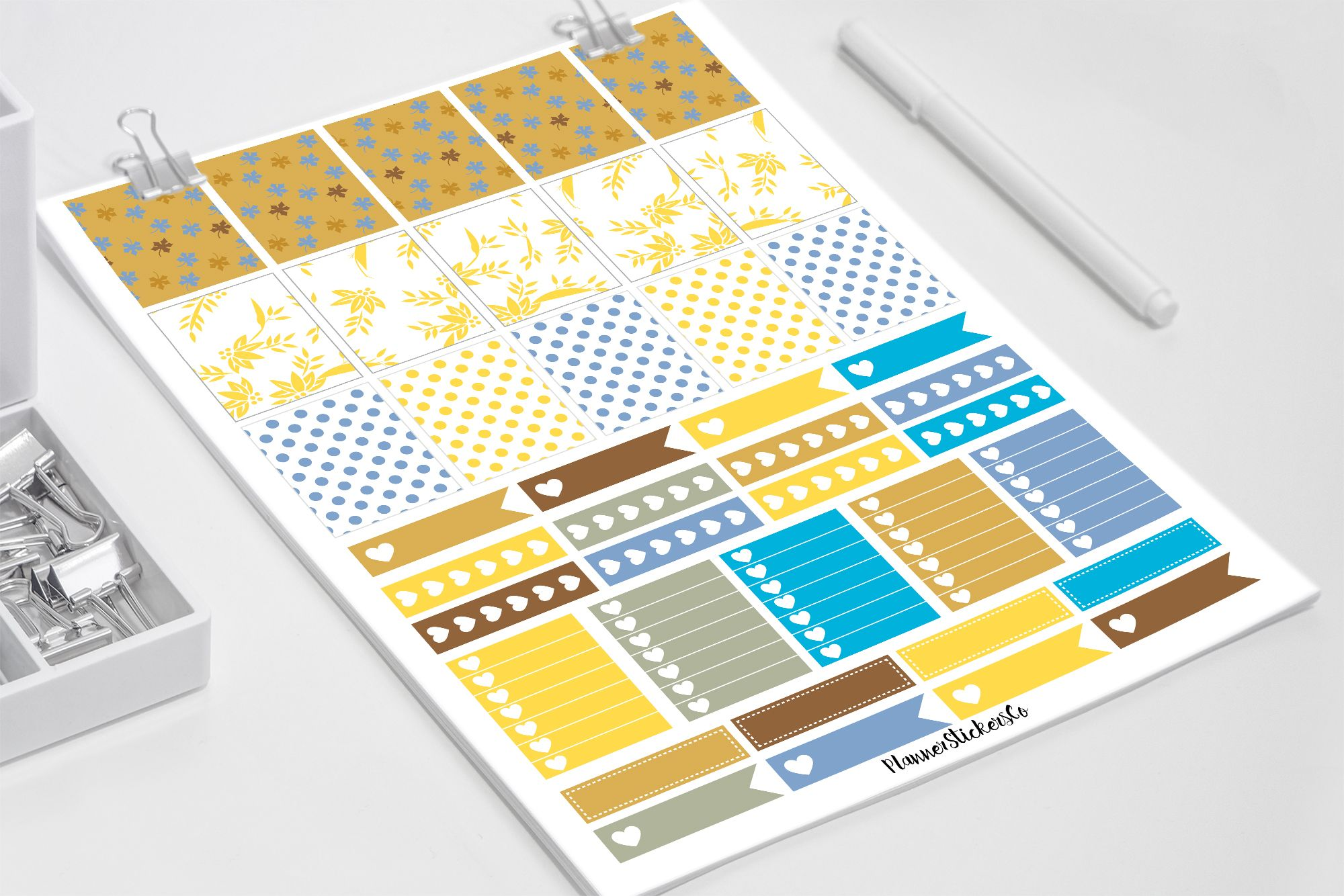 Erin Condren || Printable Planner Stickers || Instant Digital Download  Planner Stickers Co.
