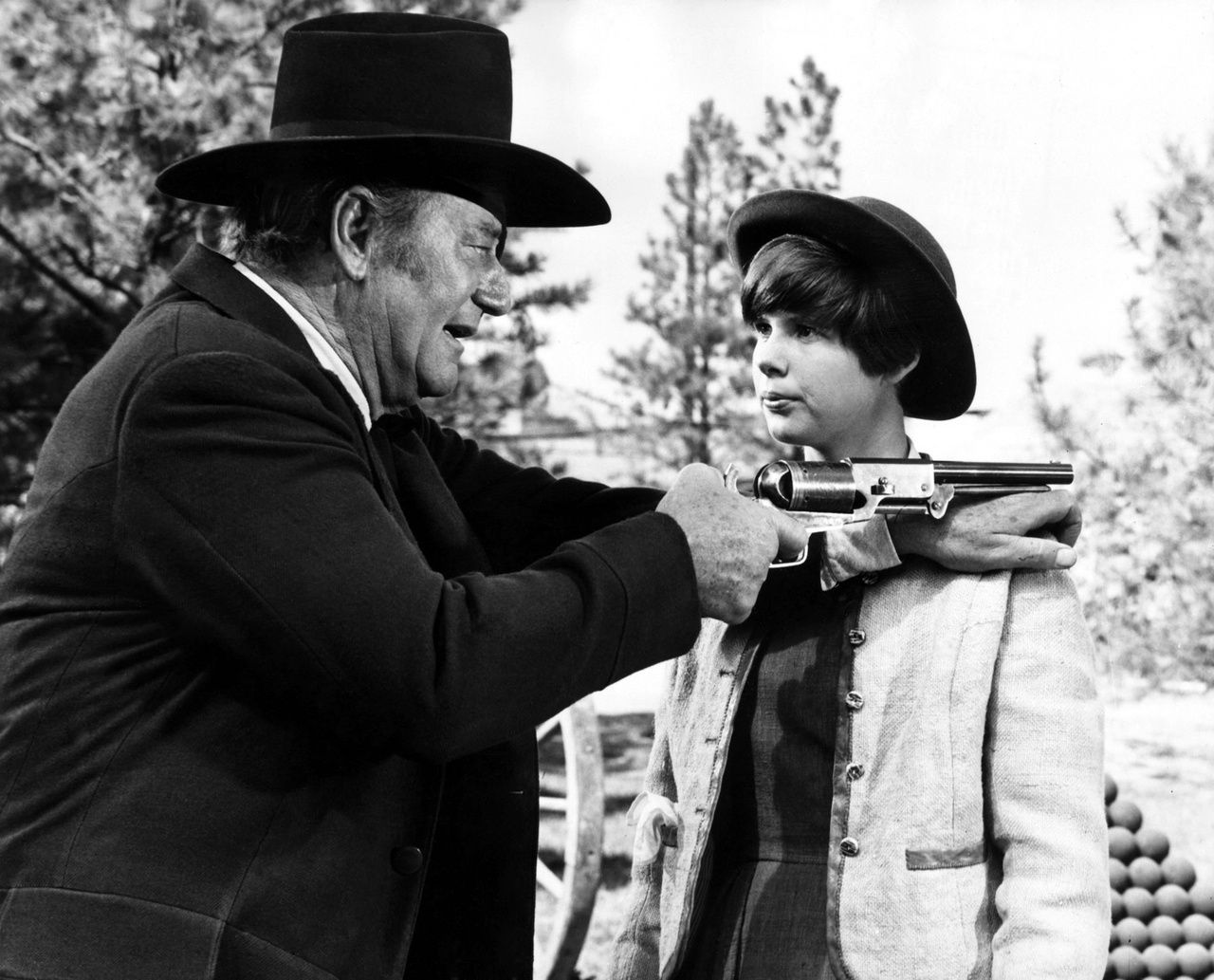 The greatest western of all time, TRUE GRIT! Forget the remake! Watch the original.