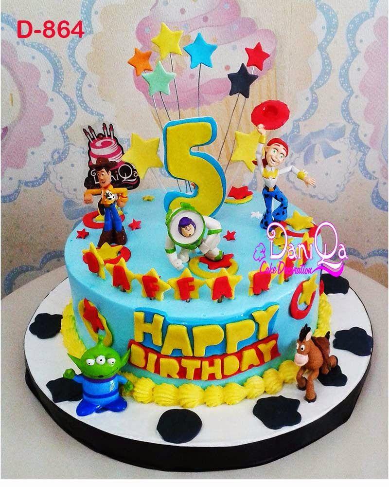 Kue Ulang Tahun Toy Story Kue Toy Story Theme Cake Dan