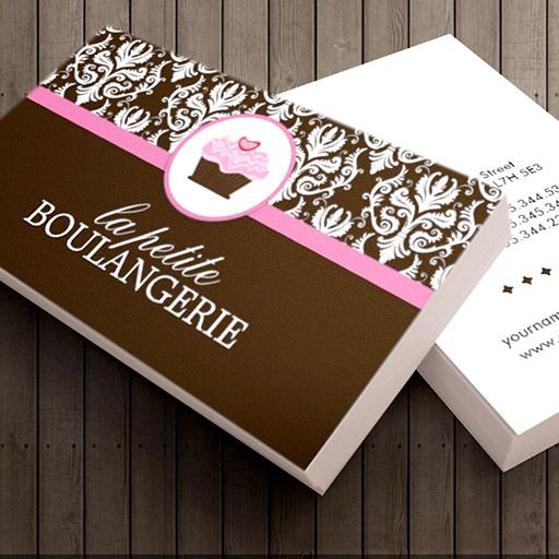 Bakery Business Cards | Bakery business cards, Bakery business and ...