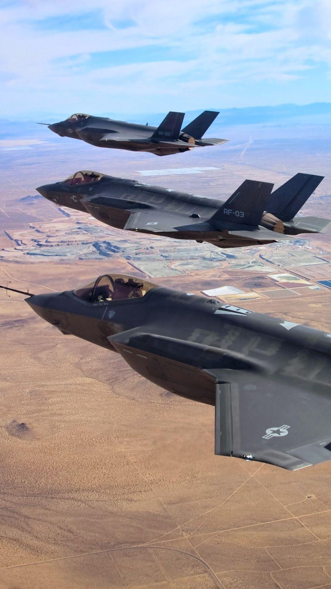 Обои «лайтнинг» ii, F-35, Lockheed, Самолёт. Авиация foto 10
