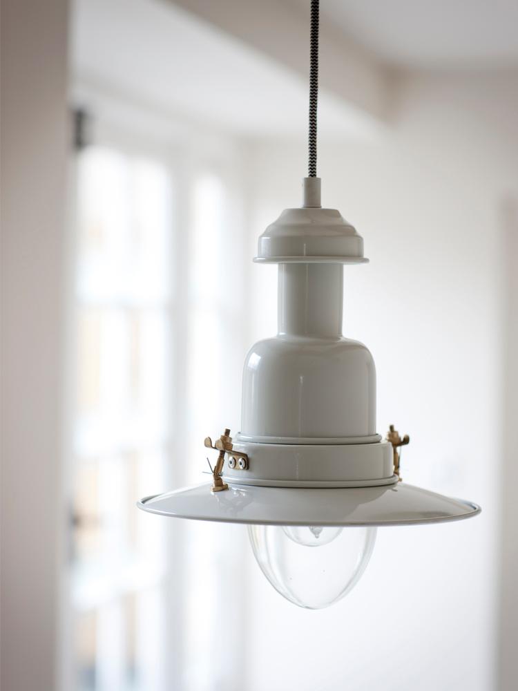 Fishing pendant light chalk indoor lighting grace and glory