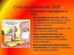 fue una crisis económica mundial que se prolongó durante la década de 1930, en los años anteriores a la Segunda Guerra Mundial. Su duración depende de los países que se analicen, pero en la mayoría comenzó alrededor de 1929 y se extendió hasta finales de la década de los años treinta o principios de los cuarenta