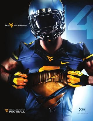 2014 West Virginia University Football Guide West Virginia University Wvu Football Wv Football