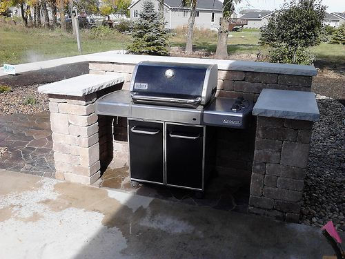 Grill Surround Lakeland Sante Fe Valley nursery, Grill area and