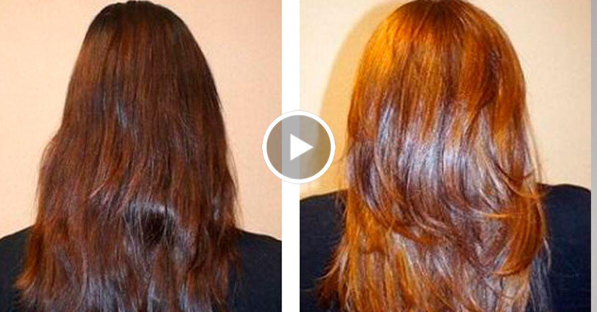 этот осветление волос корицей фото до и после больших