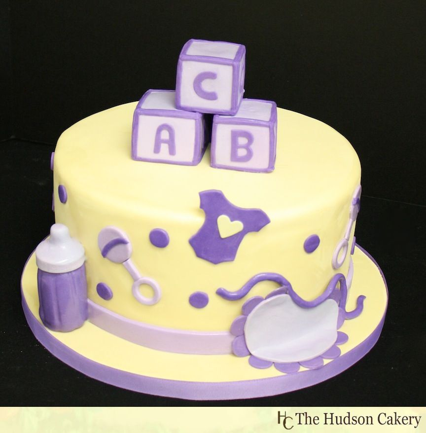 Cake Design For Unisex : Simple Baby Shower Cake Designs example of wedding ...