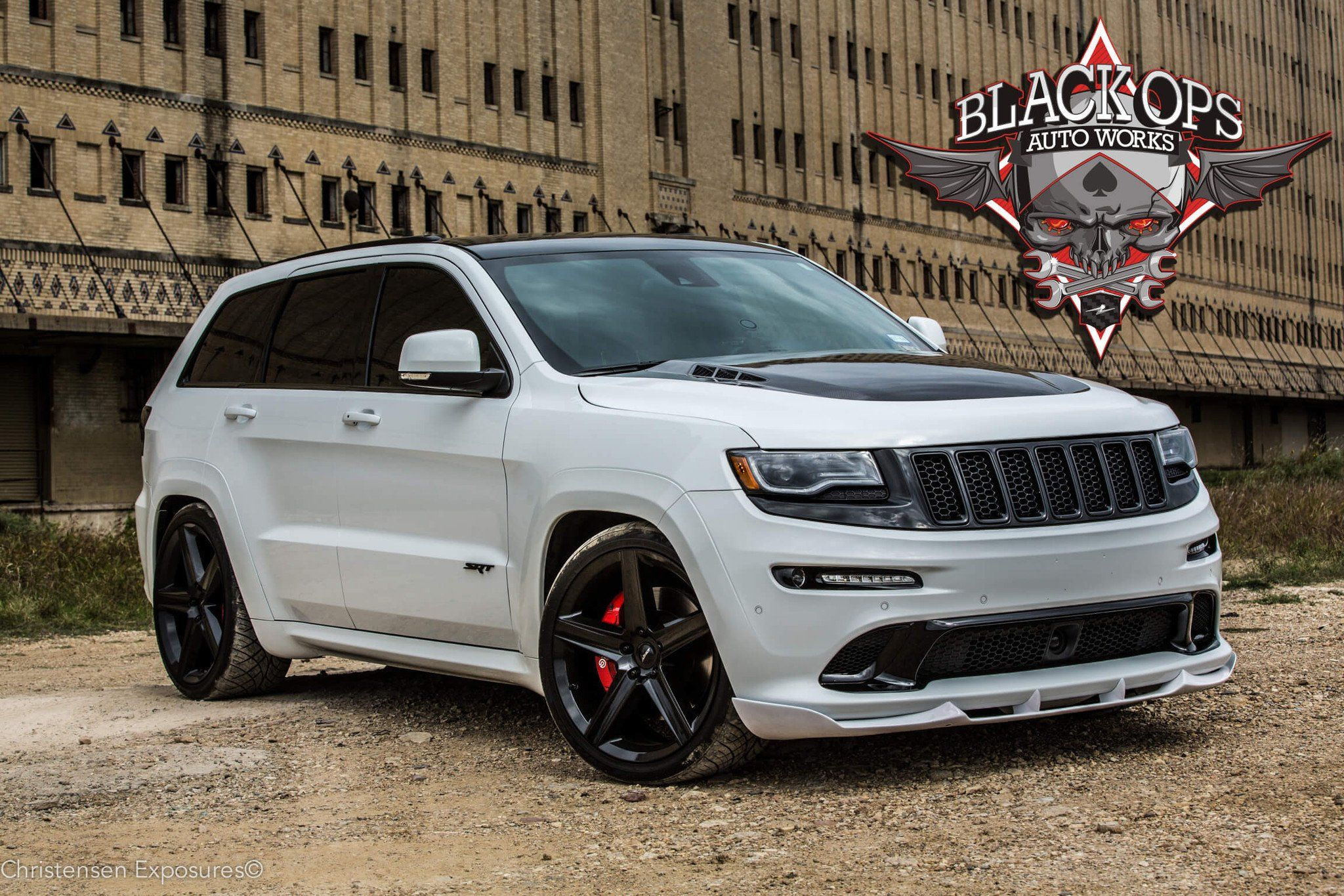2020 Jeep Grand Cherokee Srt Black