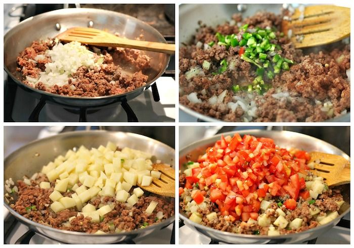 How To Make Picadillo Recipe Ground Beef And Potatoes Recipe Picadillo Recipe Mexican Food Recipes Ground Beef And Potatoes