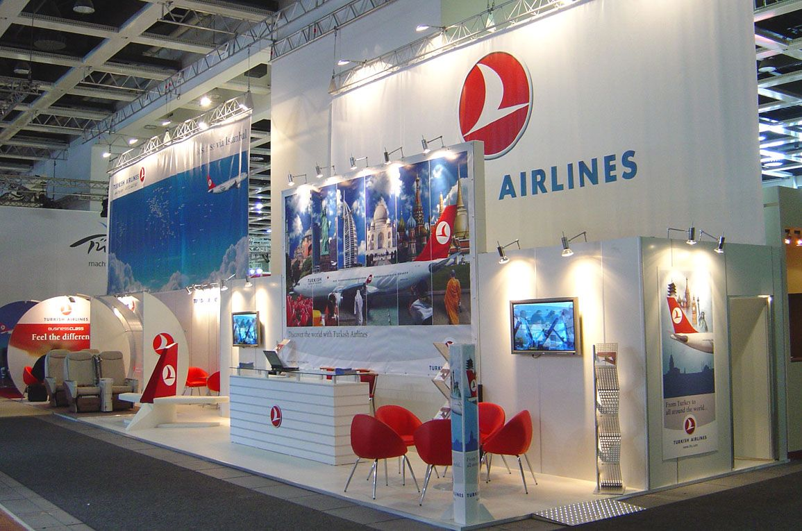 ITB THY ITBBerlin THY TurkishAirlines 展示会, 展示会ブース