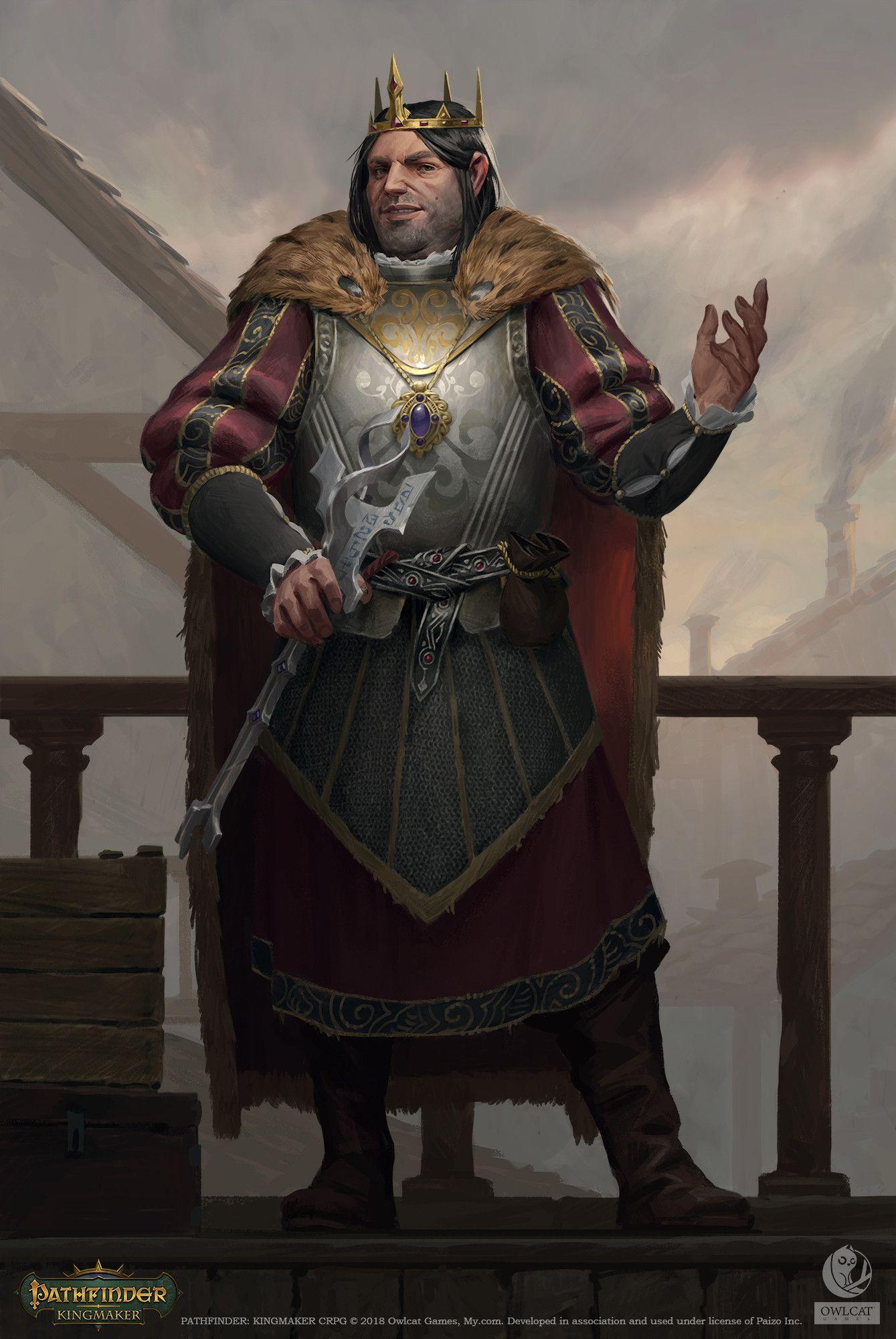 Pathfinder Kingmaker Portraits