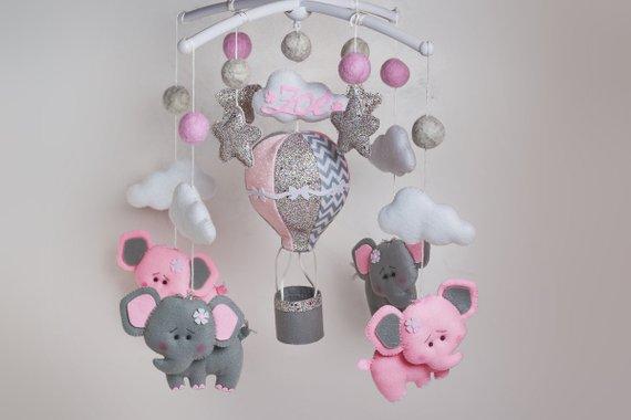 Baby Elephant Nursery Decor