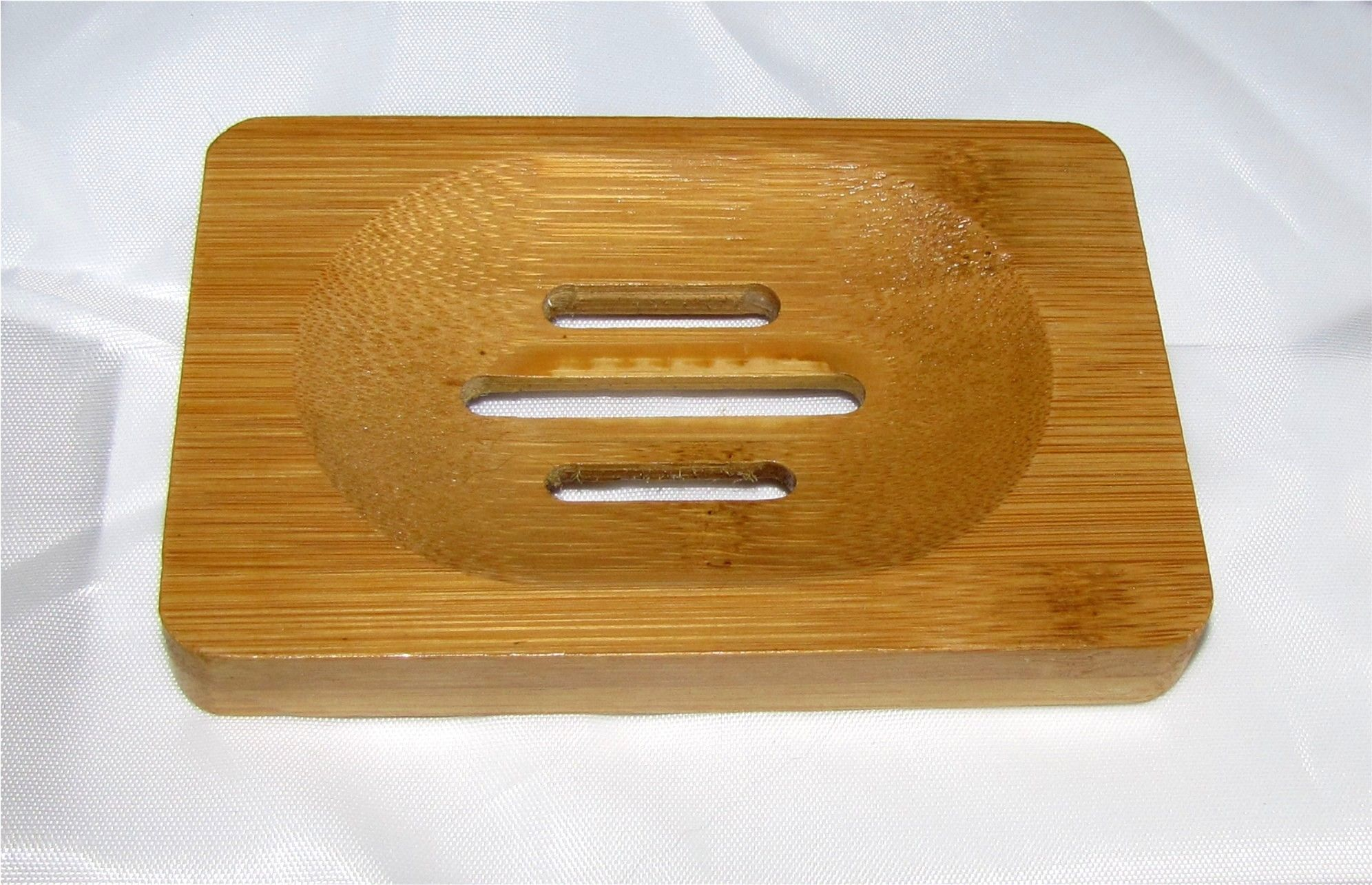 Bamboo Soap Trays, Two Per Package