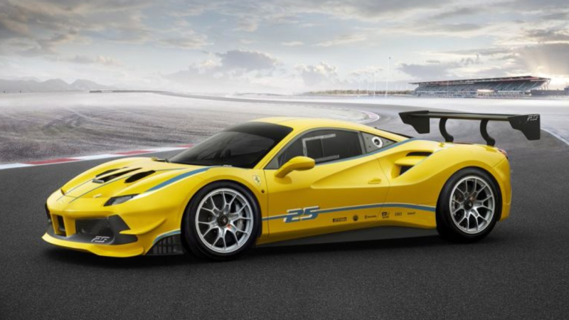 New Ferrari 488 Challenge Car Looks Too Nice For Some Rich Guy To Drive Into A Wall