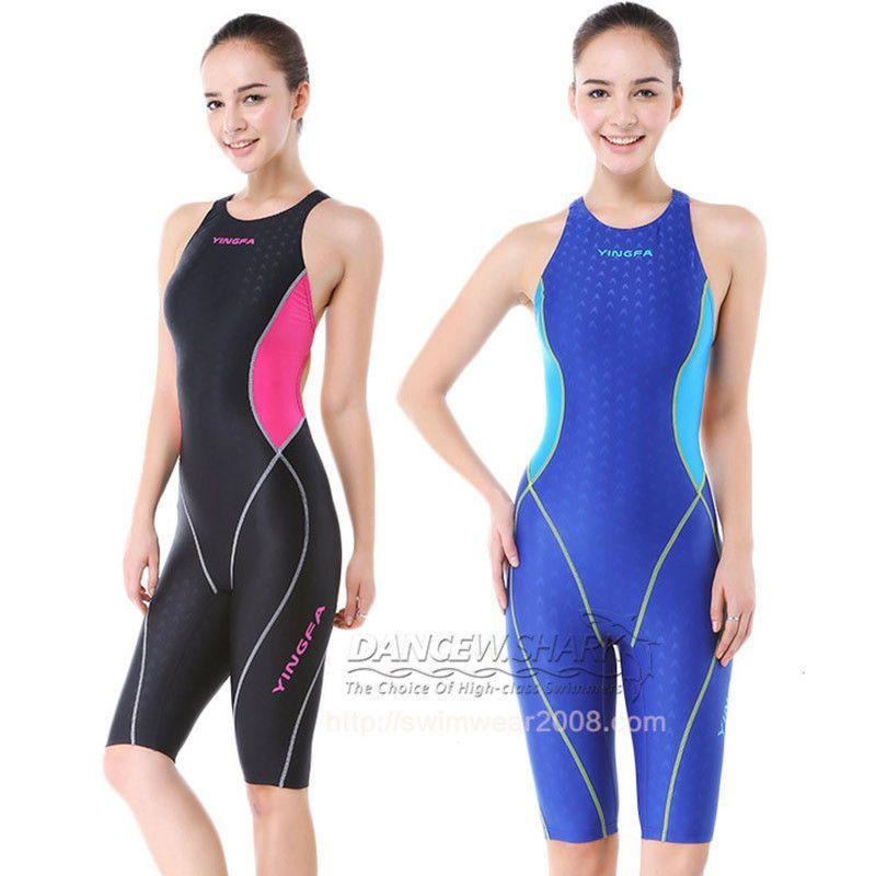 YINGFA womens girls swimwear competition racing sharkskin swimsuit 953 Sz  0-14 | Swimsuits, Swimwear girls, Kid swim suits