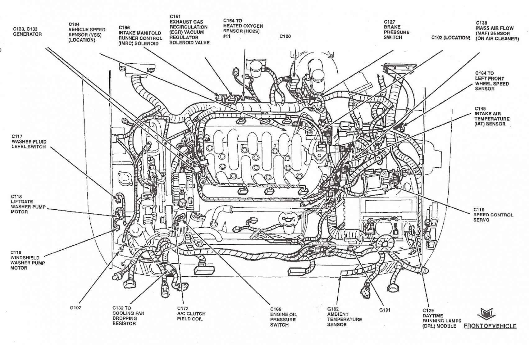 Diagram Of 6 Ford Focus Engine Di 2020