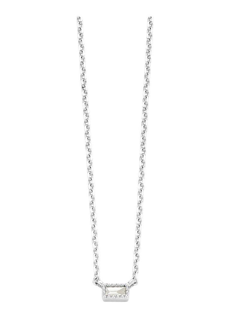Diamond Point Joy witgouden collier • de Bijenkorf