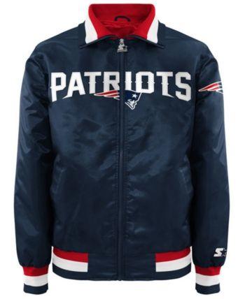 5718b1e1 G-iii Sports Men's New England Patriots Starter Captain Ii Satin ...