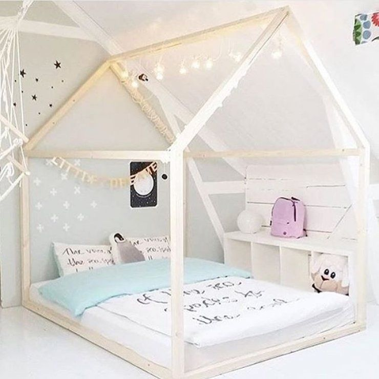 10 house framed beds house room and kids rooms for Flooring for child s bedroom