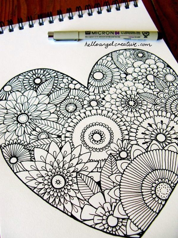 40 Absolutely Beautiful Zentangle Patterns For Many Uses Easy Doodle Art Zentangle Patterns Zentangle Drawings