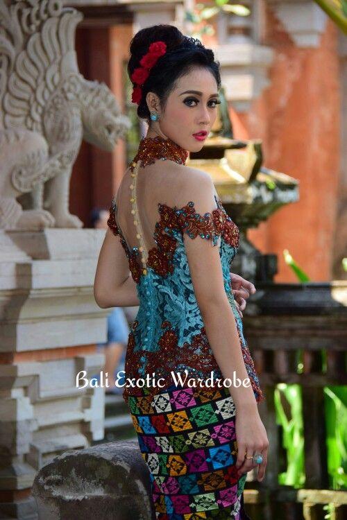 Kebaya Brokat Modif Design And Made By Bali Exotic Wardrobe Kebaya