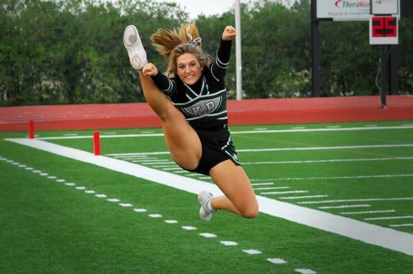 Learn how to do a front hurdler and other cheerleading jumps on CheerleadingInfoCenter.com