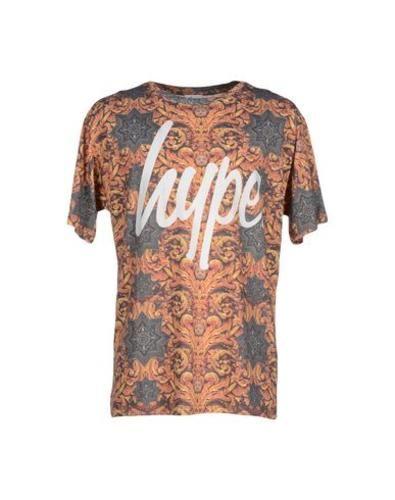 #Hype t-shirt uomo Arancione  ad Euro 31.00 in #Hype #Uomo topwear t shirts