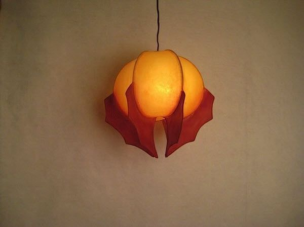 Hand Crafted By A From Portland Oregon These Paper Sculptured Light Are Decorating The